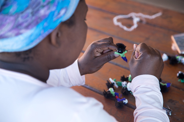 Economic Empowerment - Hillcrest AIDS Centre Trust - KwaZulu-Natal - hillaids HACT -woza-moya-beading-create