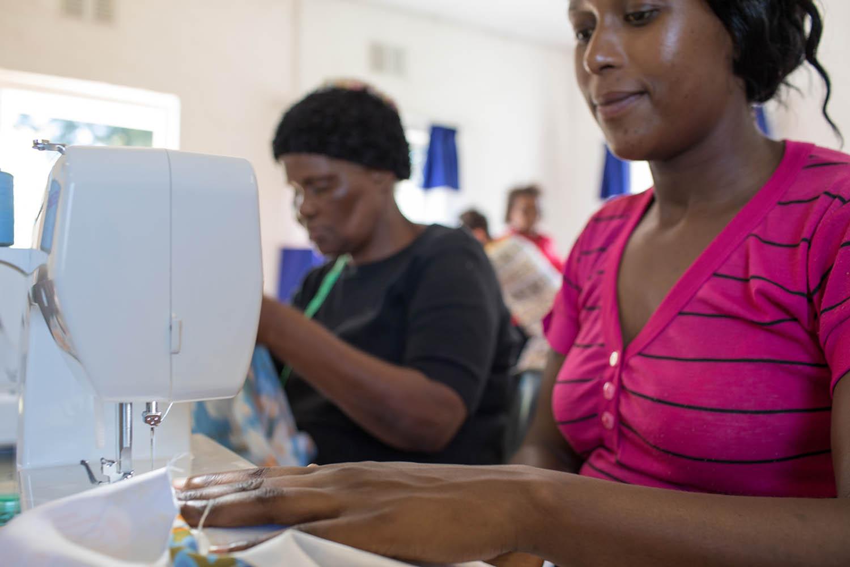 Economic Empowerment - Hillcrest AIDS Centre Trust - KwaZulu-Natal - hillaids HACT - woza-moya-sewing-school
