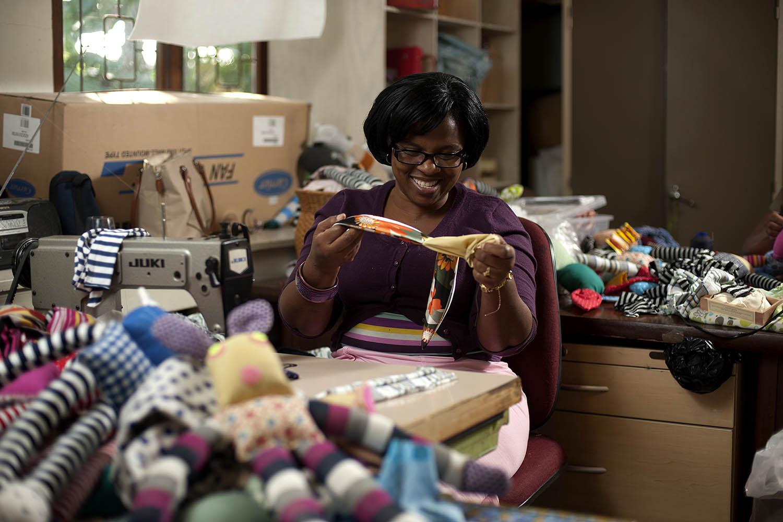 Economic Empowerment - Hillcrest AIDS Centre Trust - KwaZulu-Natal - hillaids HACT -woza-moya-sewing