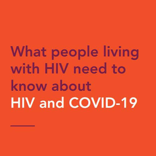 COVID-19 and HIV - Hillcrest AIDS Centre Trust News