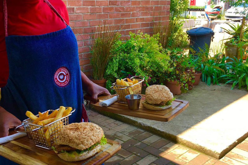 ubuntu ground cafe - hact-biz-hillaids-Hillcrest-AIDS-Centre-Trust-KZN-burgers